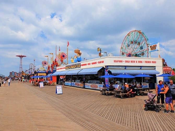 Coney Island New Yorkissa - Rantabulevardi