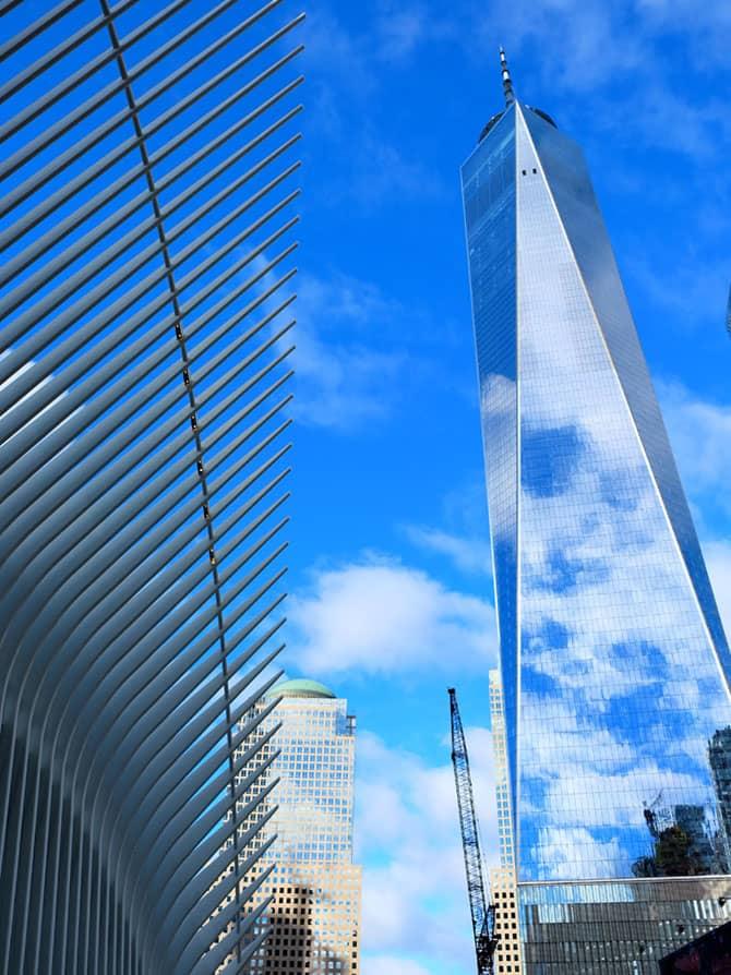 Freedom Tower : One World Trade Center - OWTC ja Oculus