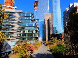 High Line Park New Yorkissa