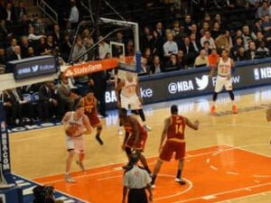 Madison Square Garden Knicks peli