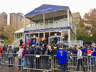 New York Marathon - Pavilion