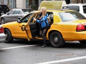 Taksi on loistava tapa matkustaa New Yorkissa