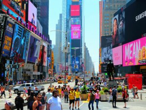 Times Square New Yorkissa