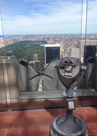 New York CityPASS -kaupunkipassi - Top of the Rock -nakoalatasanne