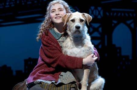 Annie-musikaali Broadwaylla New Yorkissa