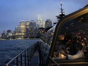 Bateaux New York -illallisristeily