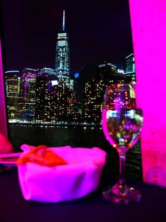 New York -illallisristeily - One World Trade