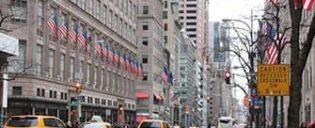 Shoppailua Fifth Avenuella New Yorkissa