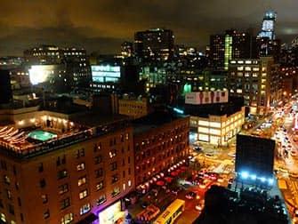 Kattoterassibaarit New Yorkissa - nakyma Gansevoort Hotellista