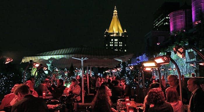 New Yorkin parhaat kattoterassibaarit - terassitunnelmaa