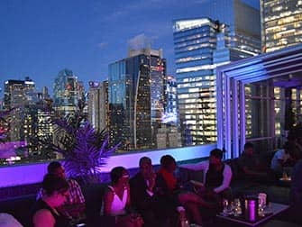 New Yorkin parhaat kattoterassibaarit - Skyroom New Yorkissa