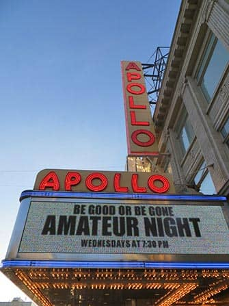 Harlem New Yorkissa - Apollo-teatteri