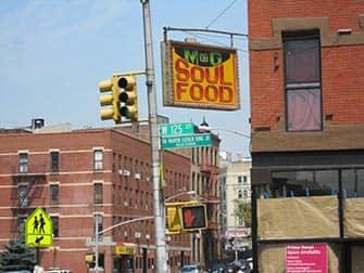 Harlem New Yorkissa - soul foodia