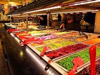 Lounas New Yorkissa - salaattibaari