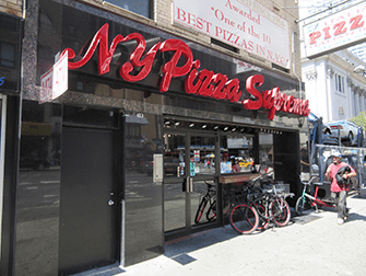 Paras pizza New Yorkissa - NY Pizza Suprema