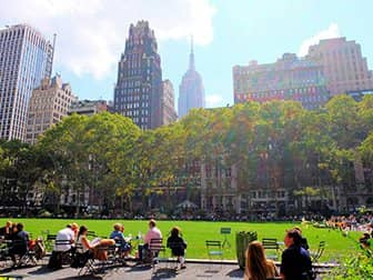 Puistot New Yorkissa - Bryant Park
