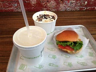 Parhaat hampurilaiset New Yorkissa - Shake Shack annos