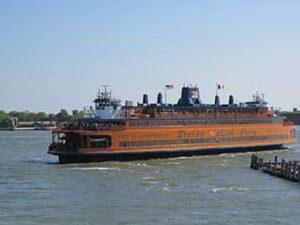 Staten Island New York - Staten Island Ferry (lautta)
