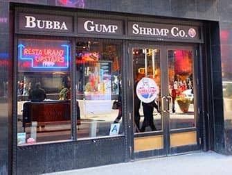 Teemaravintola Bubba Gump Shrimp