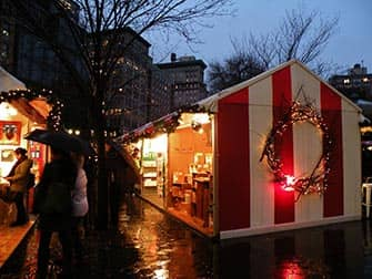 Torit New Yorkissa - Union Square Christmas Market