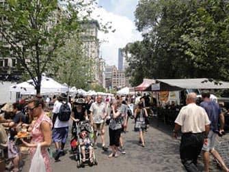 Torit New Yorkissa - Union Square Market