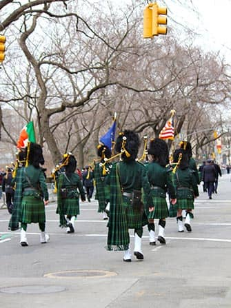 St Patricks -paraati New Yorkissa