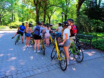 Central Park New Yorkissa - Pyöräretki
