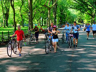 Central Park New Yorkissa - Pyöräily