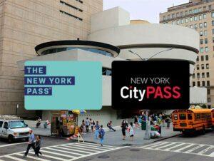 New York CityPASS ja New York Pass  kaupunkipassien erot