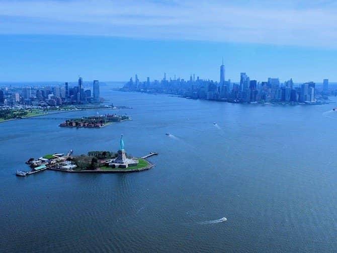 New York Helikopterilento - Vapaudenpatsas & Downtown