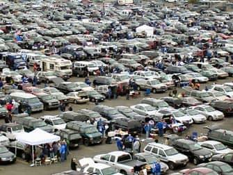 New York Giants -liput - parkkipaikka ennen New York Giants pelia