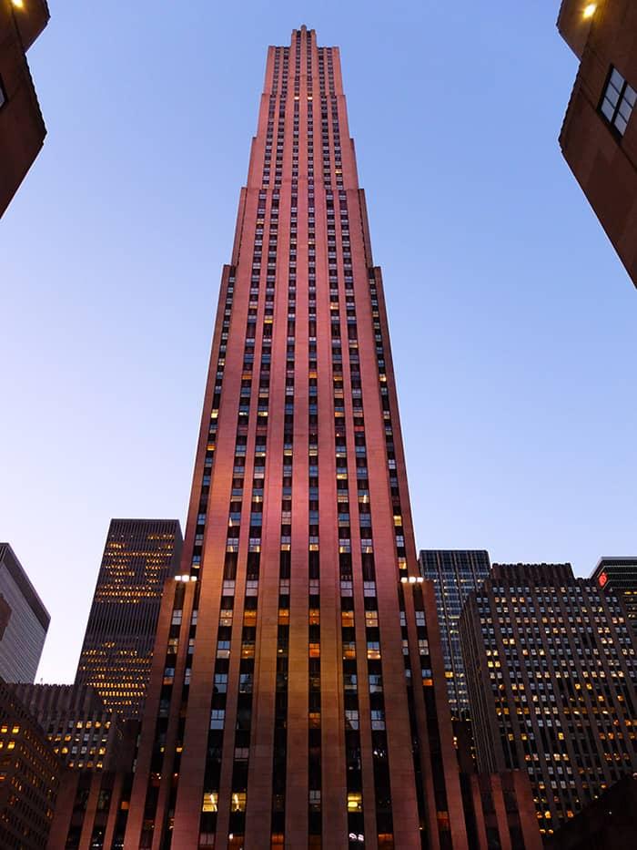 Rockefeller Center New Yorkissa - Comcast Building