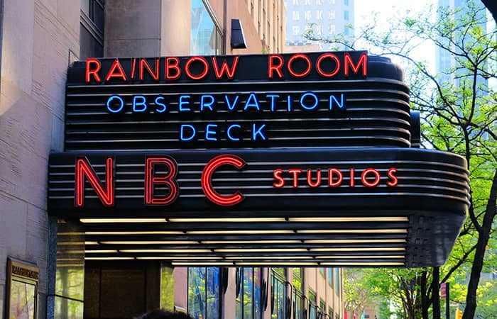 Rockefeller Center New Yorkissa - NBC