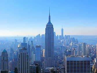 Top of the Rock liput - nakoala Empire State Buildingille