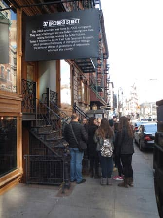 Tenement-museo New Yorkissa - Kierros