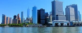 Lower Manhattan ja Financial District New Yorkissa