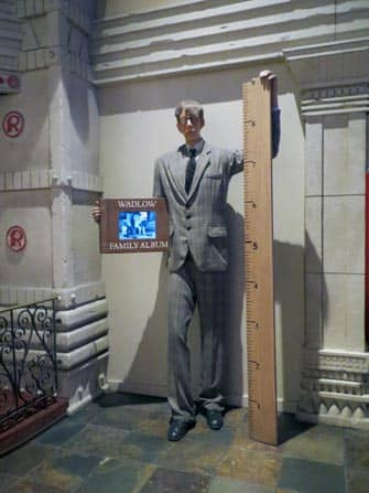 Ripley's Believe It or Not! –museo New Yorkissa - sisalta