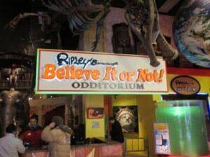 Ripleys Believe it or Not New Yorkissa