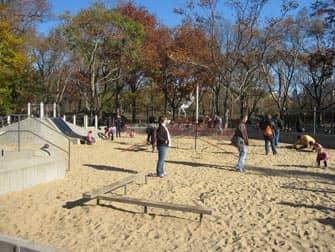 Central Park -leikkipuisto New Yorkissa