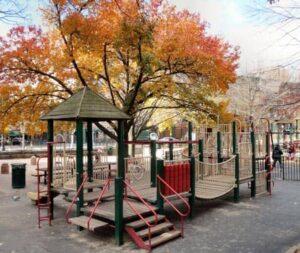 New York Bleeckerstreet-leikkipuisto