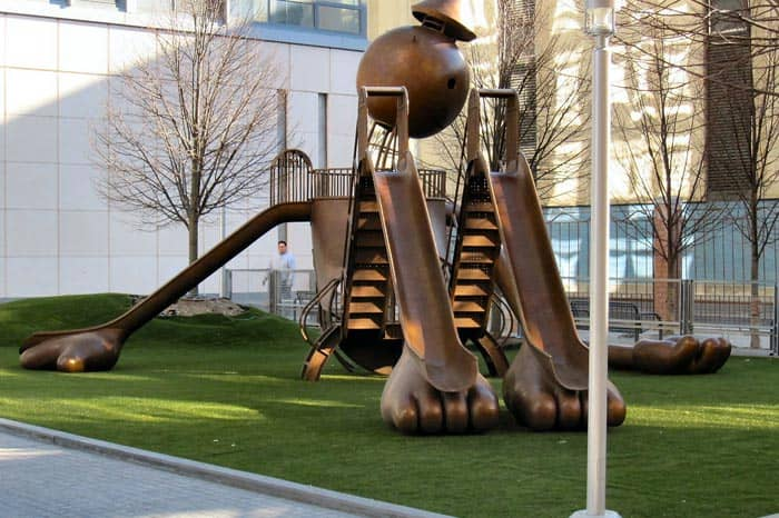 Silver Towers -leikkipuisto New Yorkissa