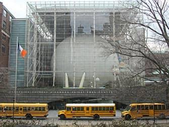 American Museum of Natural History New Yorkissa ulkoapain