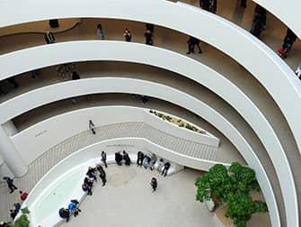 Guggenheim-museo New Yorkissa - Sisällä