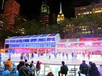 Luisteleminen New Yorkissa - Bryant Park2