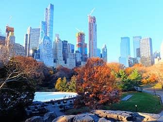 Luisteleminen New Yorkissa - Central Park