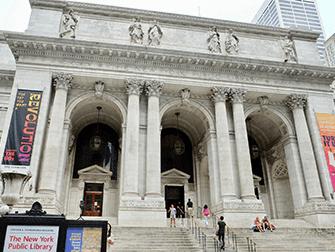 New Yorkin arkkitehtuurikierros - Public Library