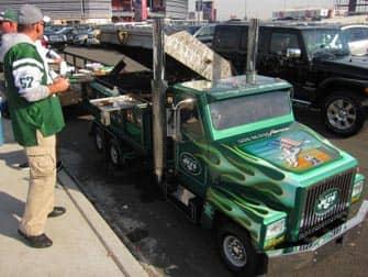 New York Jets -liput - parkkipaika