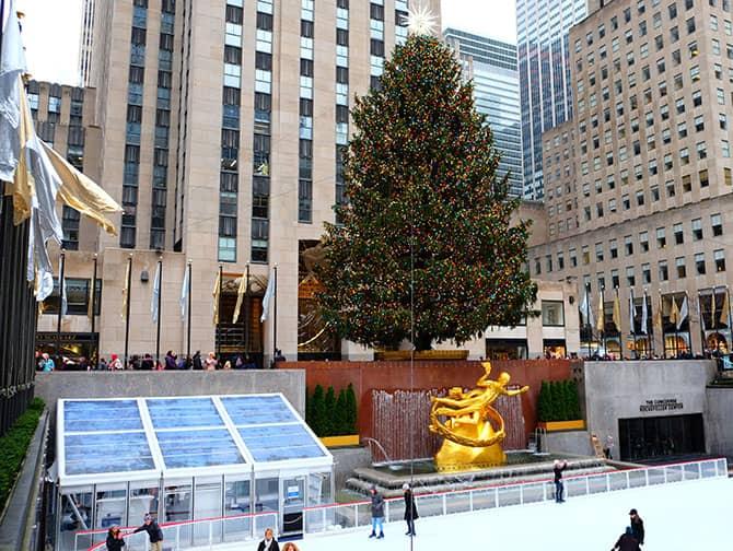 Luisteleminen New Yorkissa - Rockefeller Rink