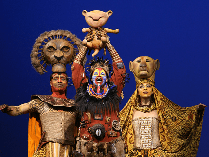 Lion King Broadway-liput - Rafiki