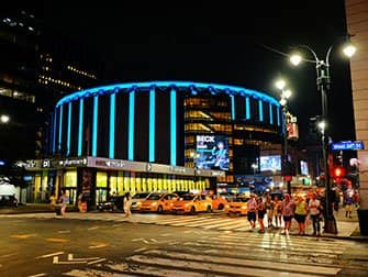 Madison Square Garden New Yorkissa - Ulkoa